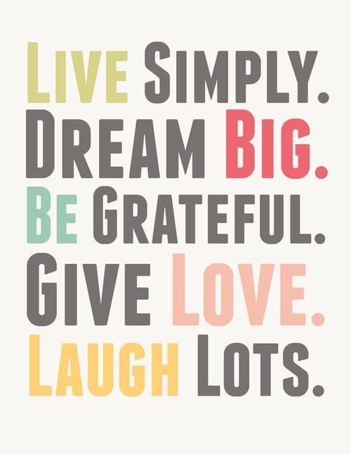 live_simply